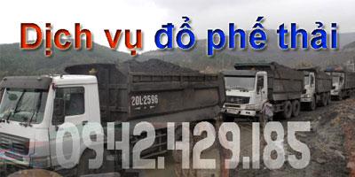 Dịch vụ đổ phế thải Hà Nội