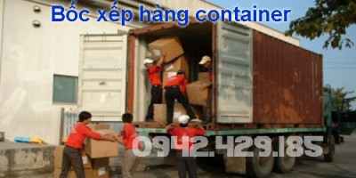 bốc xếp container